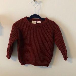 Zara Baby Chunky Knit Sweater 6-9M
